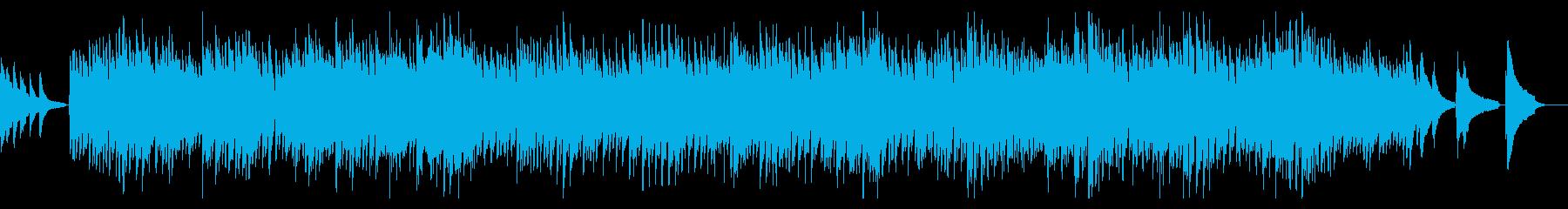 エンディング風、切なく感動的なピアノ曲の再生済みの波形