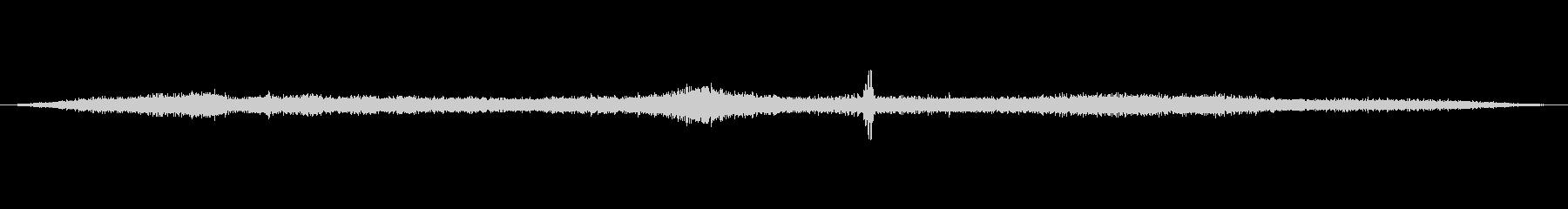 交差点の音4の未再生の波形