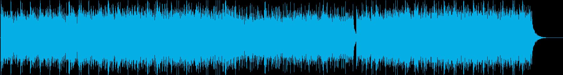 PV-自然-観光-森-山-動画-ドローンの再生済みの波形