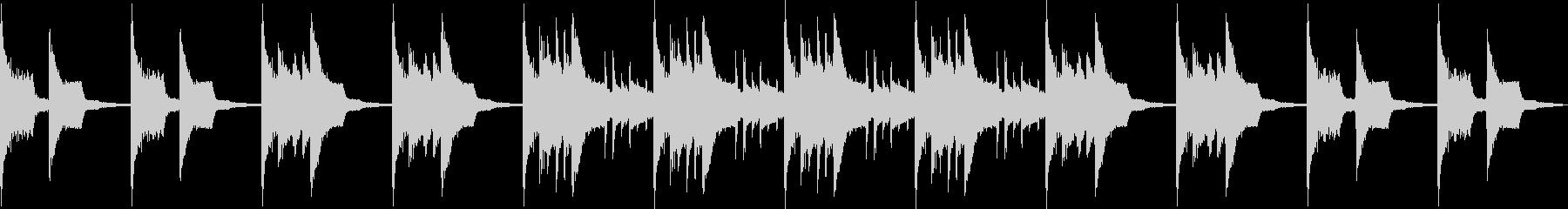 ピコピコした感動的なBGM/ファミコンの未再生の波形