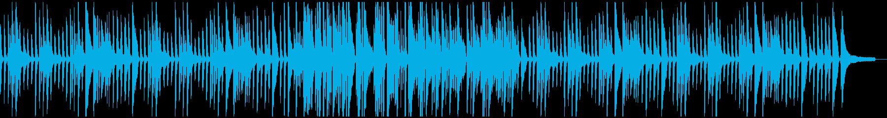 ほのぼのゆったり癒しの日常BGMの再生済みの波形
