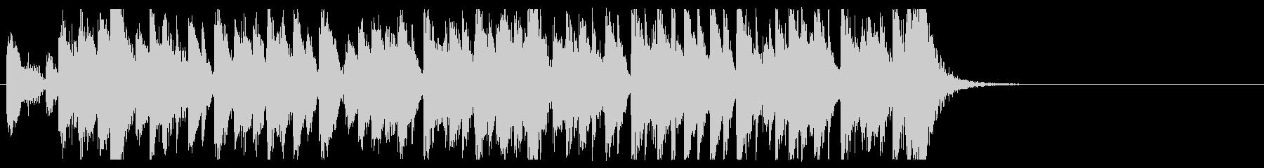 三味線 太鼓のアンサンブル3BPM136の未再生の波形