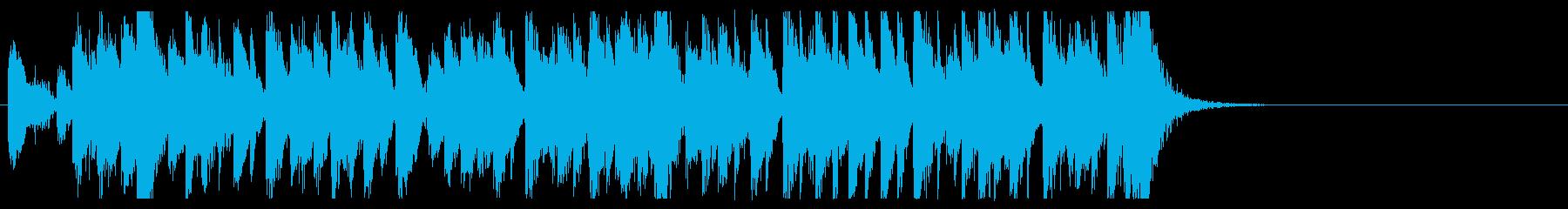 三味線 太鼓のアンサンブル3BPM136の再生済みの波形