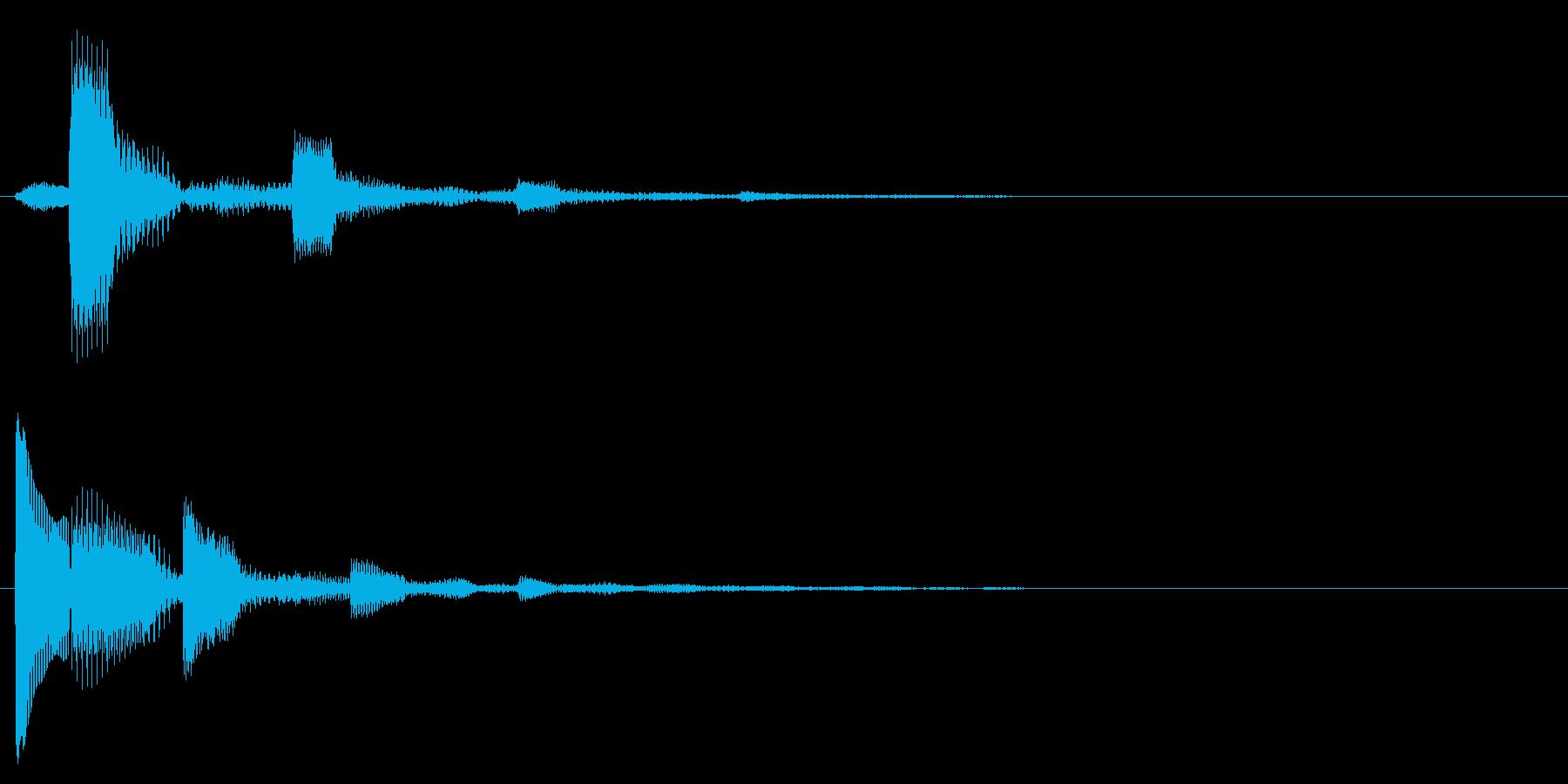 ピコンピンピコン(解説のポイント)の再生済みの波形
