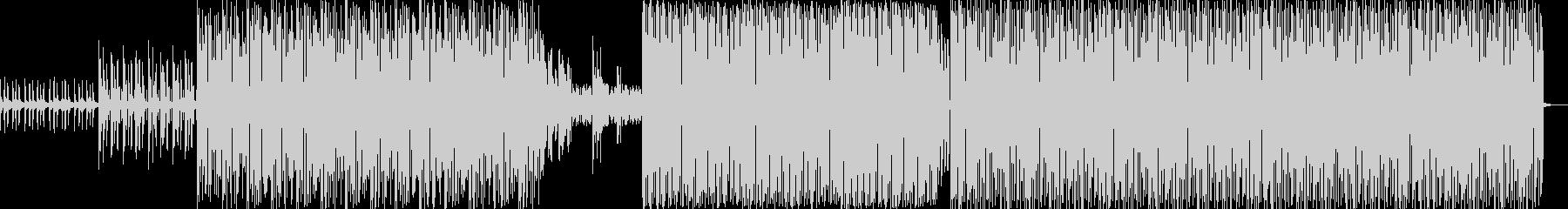 ハイテンポバージョン bpm122 の未再生の波形