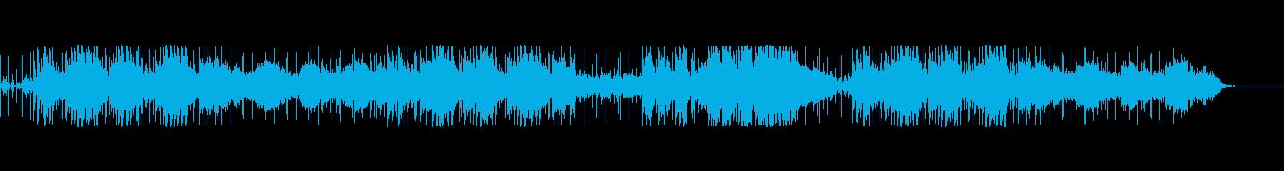 16ビートピアノポップス春のそよ風の再生済みの波形