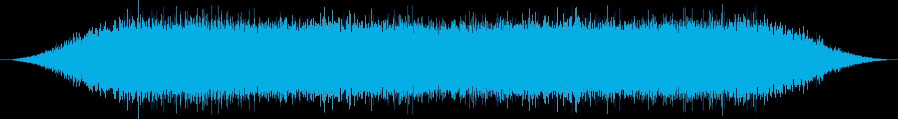 自然 ウォーターヒューシュ01の再生済みの波形