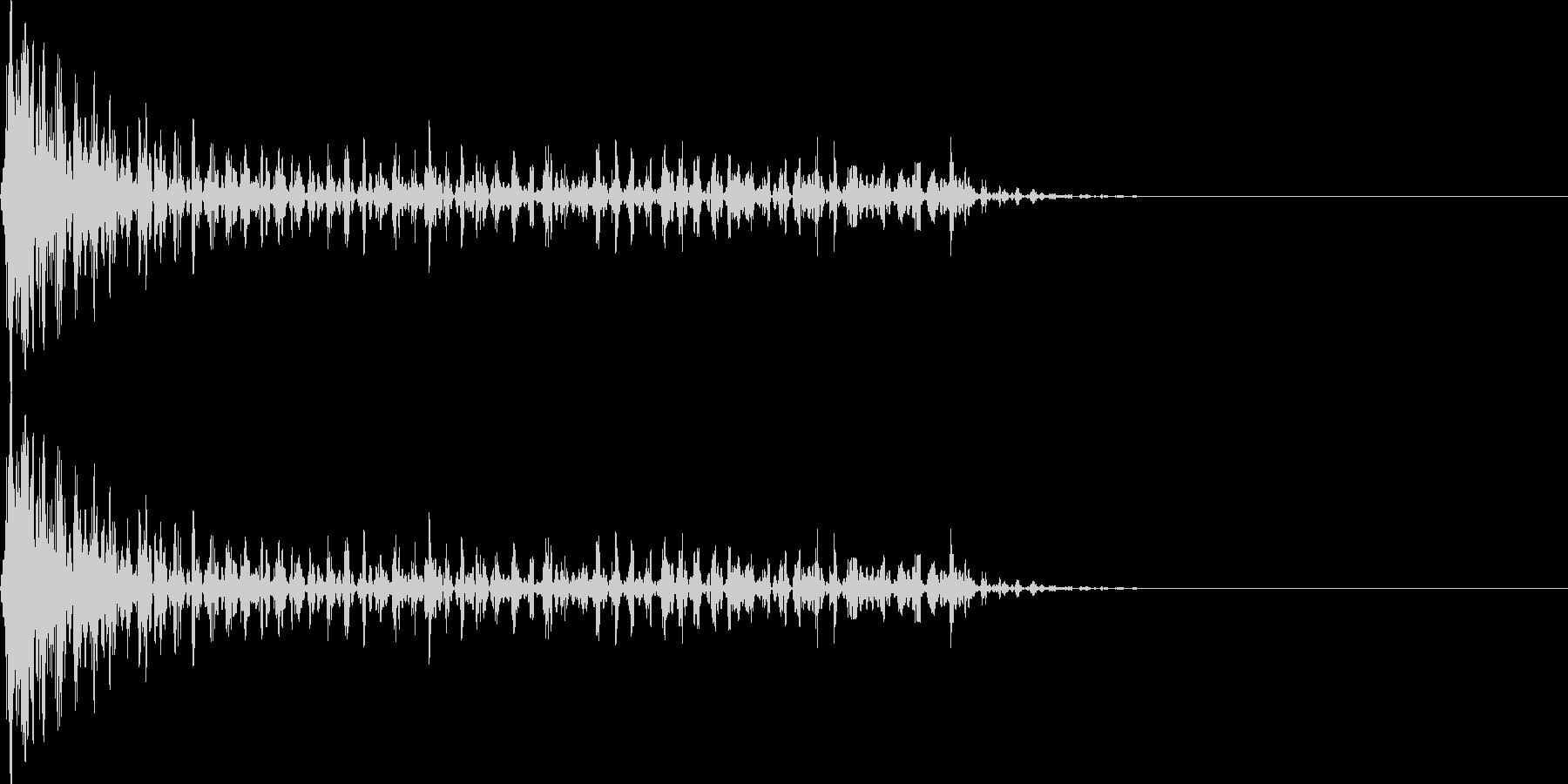 ブワワーン(マイナス_ミス_少し長い)の未再生の波形