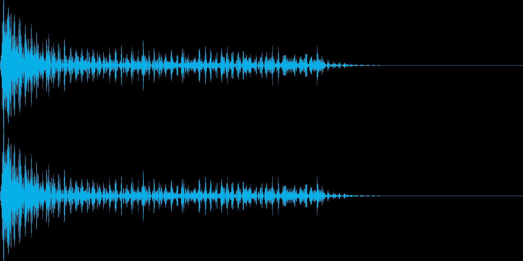 ブワワーン(マイナス_ミス_少し長い)の再生済みの波形