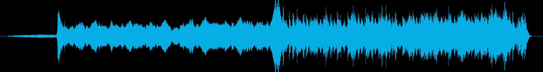 重厚、途中からドラムアンサンブル中心の再生済みの波形