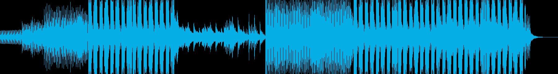 ハロウィンな雰囲気のフューチャーベースの再生済みの波形