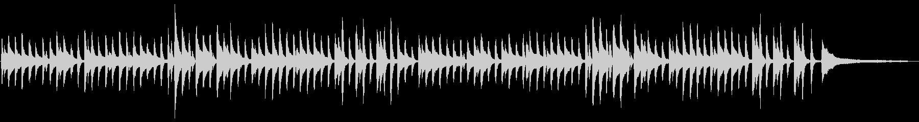 童謡「鯉のぼり」シンプルなピアノソロの未再生の波形