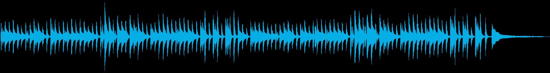 童謡「鯉のぼり」シンプルなピアノソロの再生済みの波形