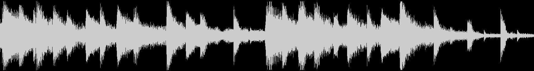 <ショートループ> ピアノ⑨+ビートAの未再生の波形