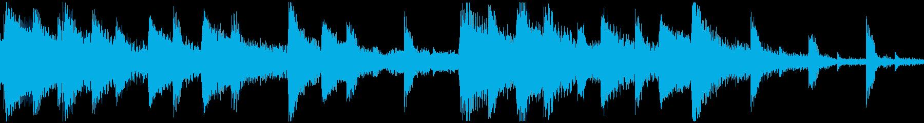 <ショートループ> ピアノ⑨+ビートAの再生済みの波形