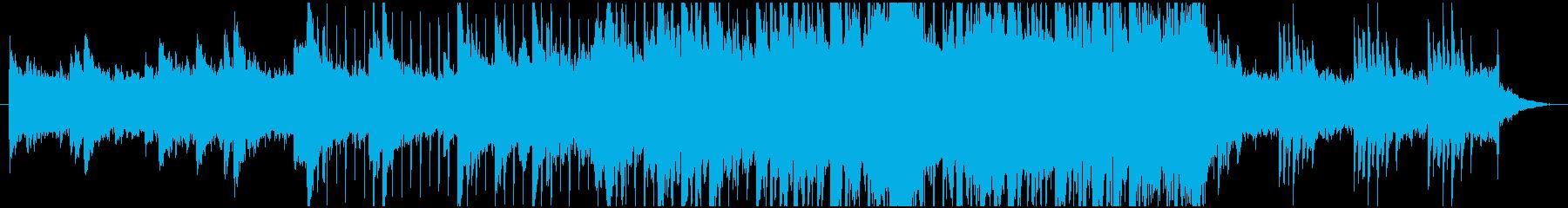 ポップ テクノ ブレイクビーツ ほ...の再生済みの波形