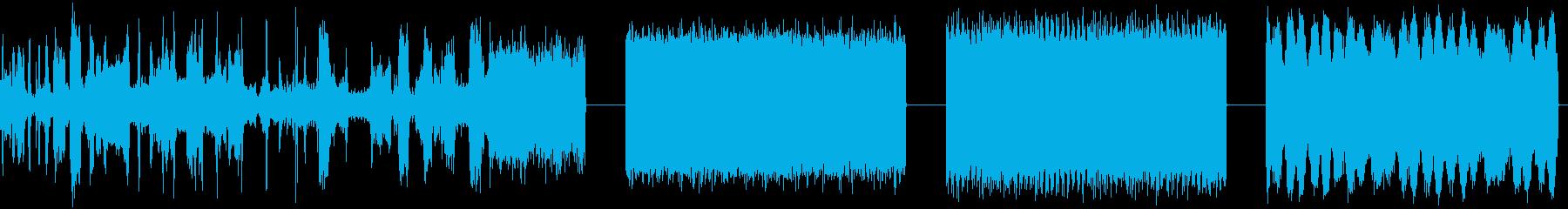 AM RADIO、SCAN、NOI...の再生済みの波形