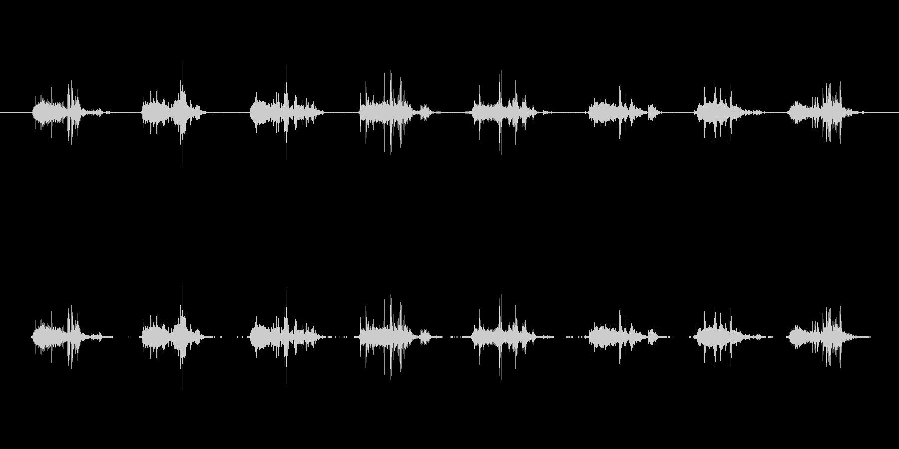 【本01-3(めくる)】の未再生の波形