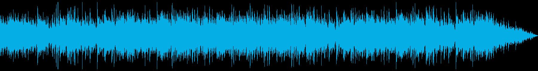 お洒落なカフェをイメージしたジャズBGMの再生済みの波形