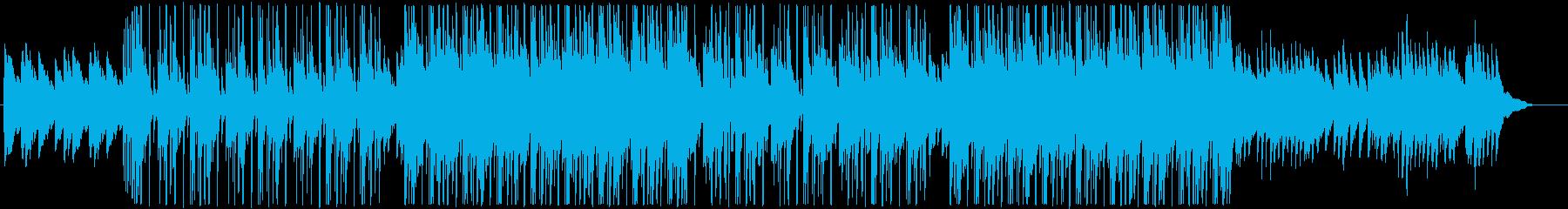 哀愁満点なピアノ&アコギ&ブレイクビーツの再生済みの波形