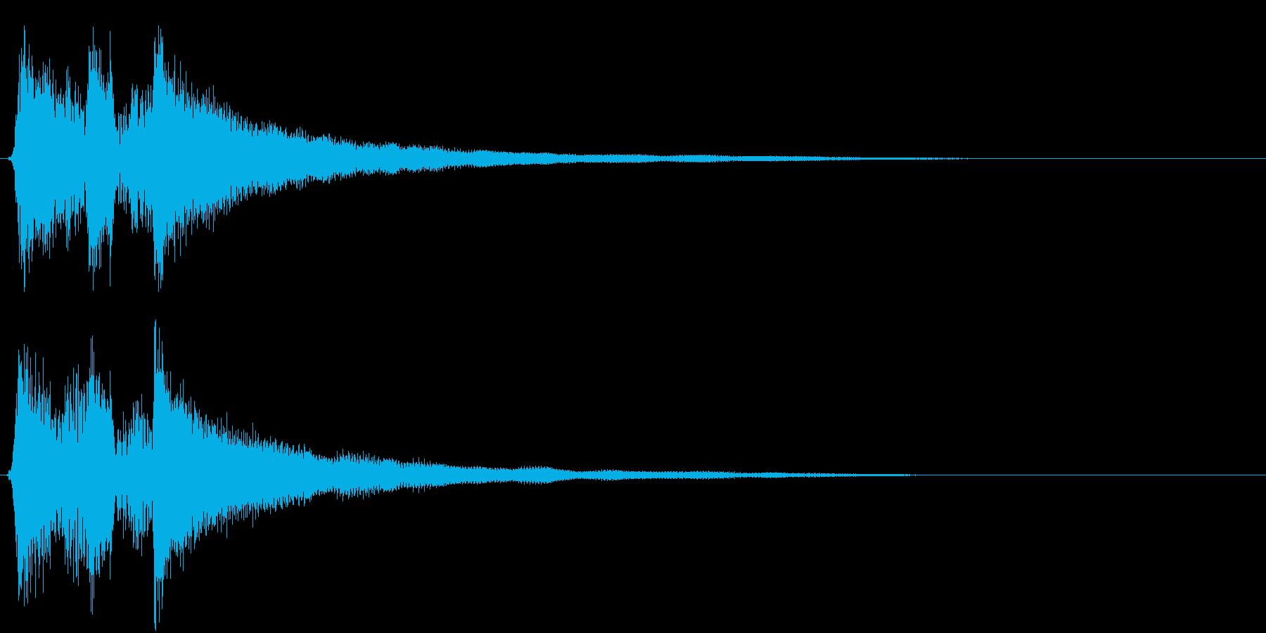 アコギ、爽やかなサウンドロゴ・ジングルの再生済みの波形