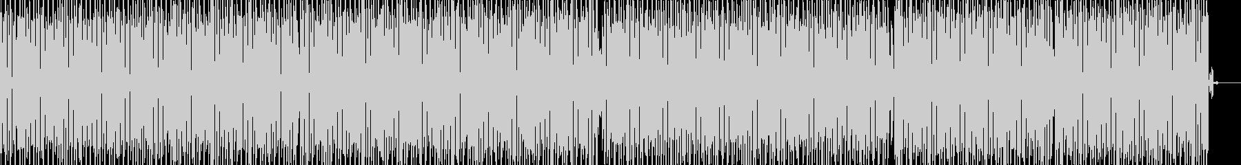 キャラ選択のBGMっぽいポップなテクノの未再生の波形