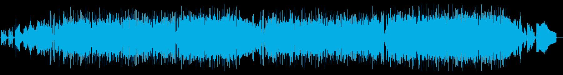 日常シーンに!ほのぼのしたかわいいBGMの再生済みの波形