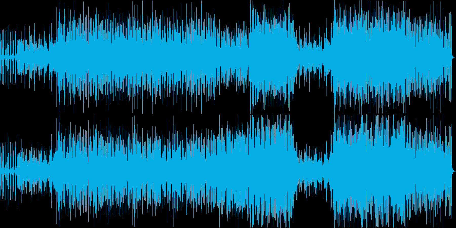 ふわっとしたせつないピアノブレイクビーツの再生済みの波形