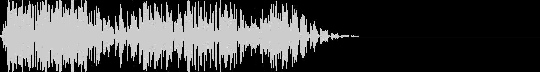 ロボ音 ボワッ Acid音の未再生の波形