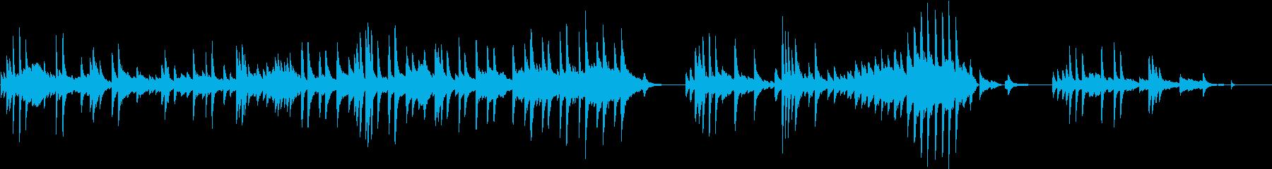 あたたかな始まりをイメージしたピアノ曲の再生済みの波形