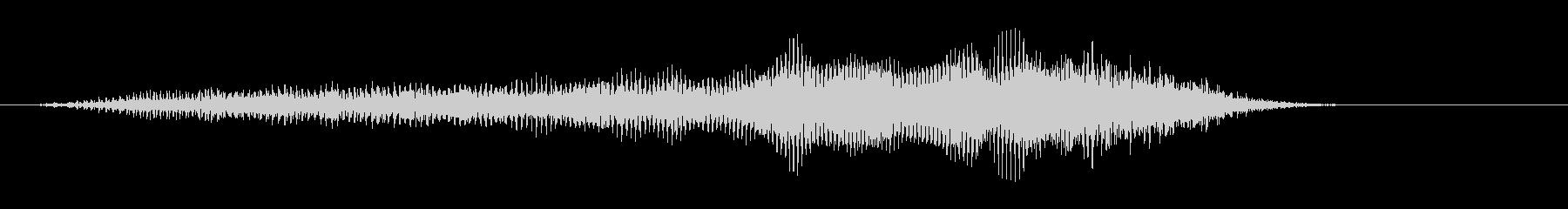 モォ〜♪牛の鳴き声の効果音 06の未再生の波形