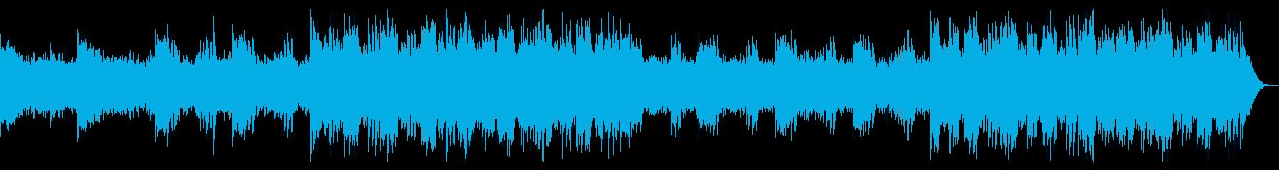 開放感溢れた宇宙を感じるエレクトロニカ2の再生済みの波形
