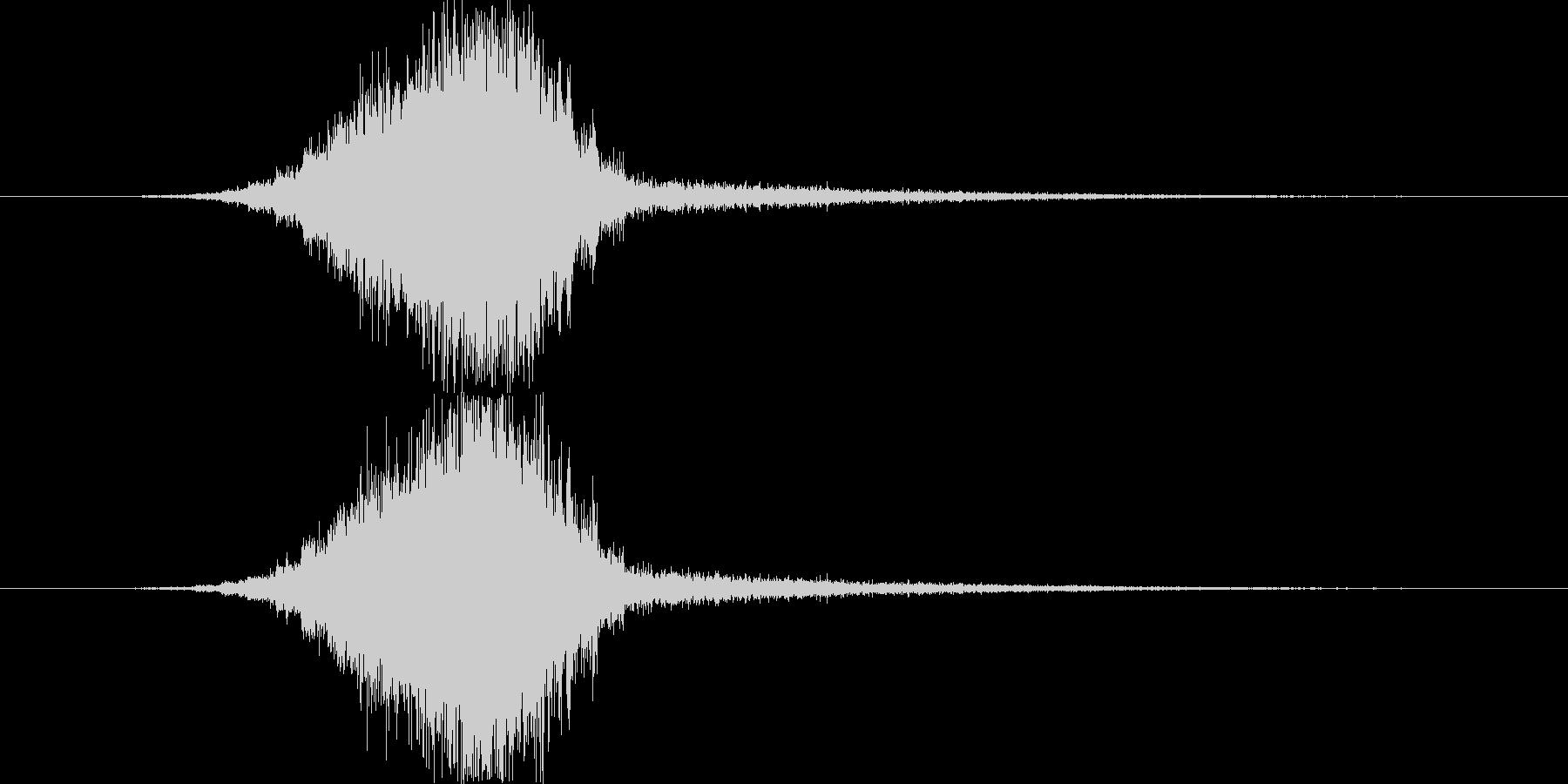 トランジション スイープ 41 の未再生の波形