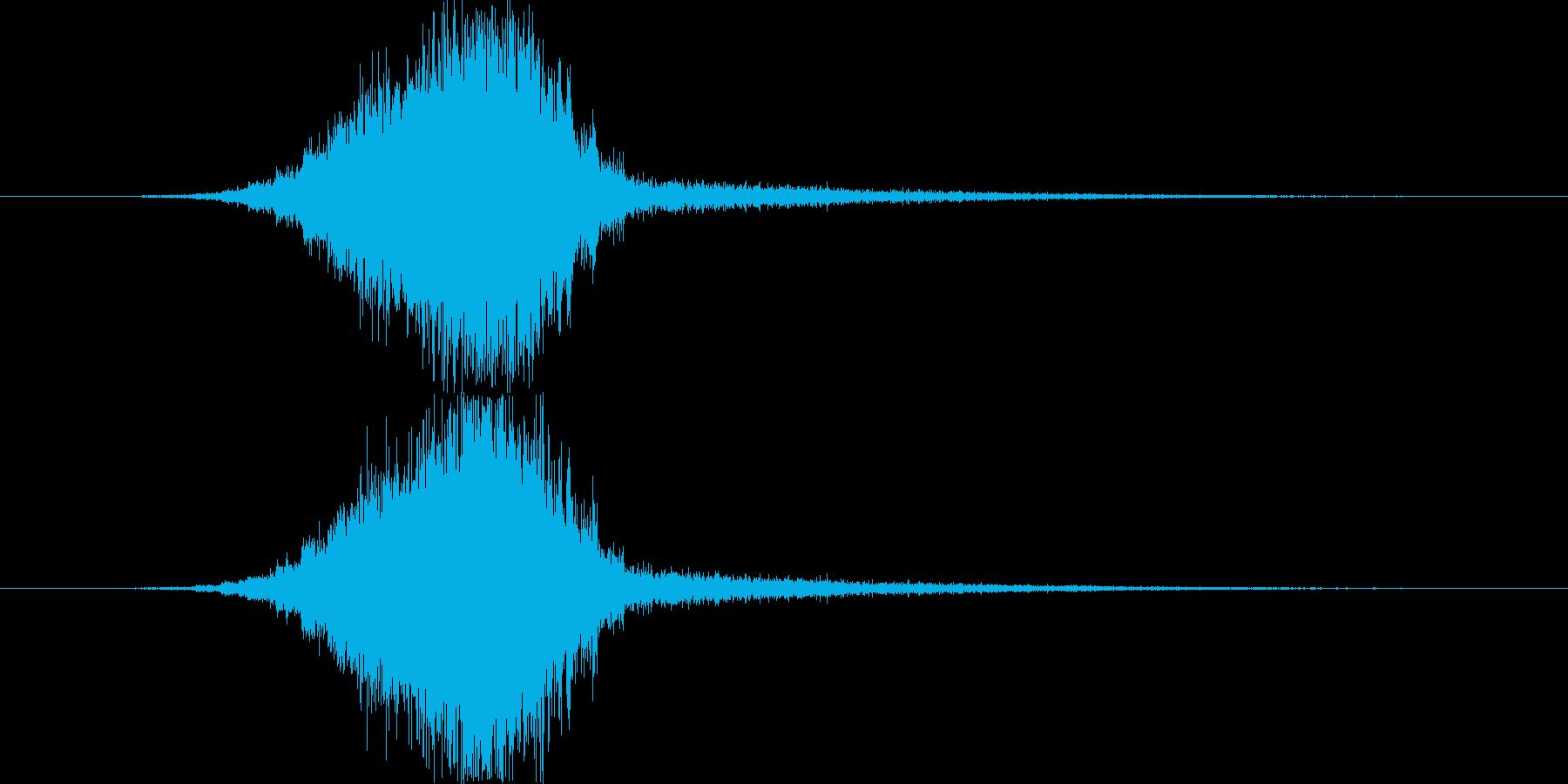 トランジション スイープ 41 の再生済みの波形