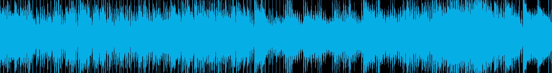 清涼感のあるかわいい曲(Loop対応)の再生済みの波形