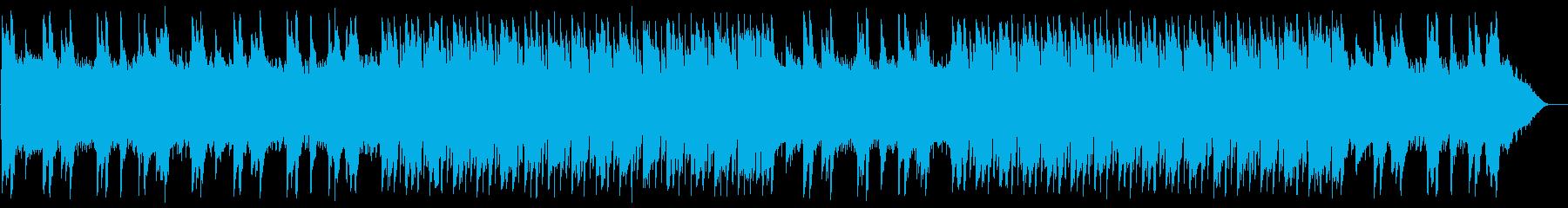 なめらかで綺麗なオルゴールの再生済みの波形
