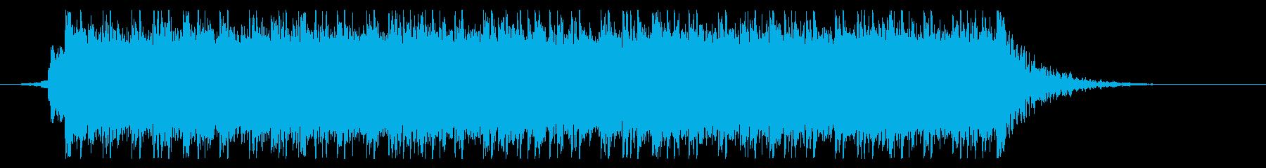 疾走感溢れるギターインスト_ジングルの再生済みの波形