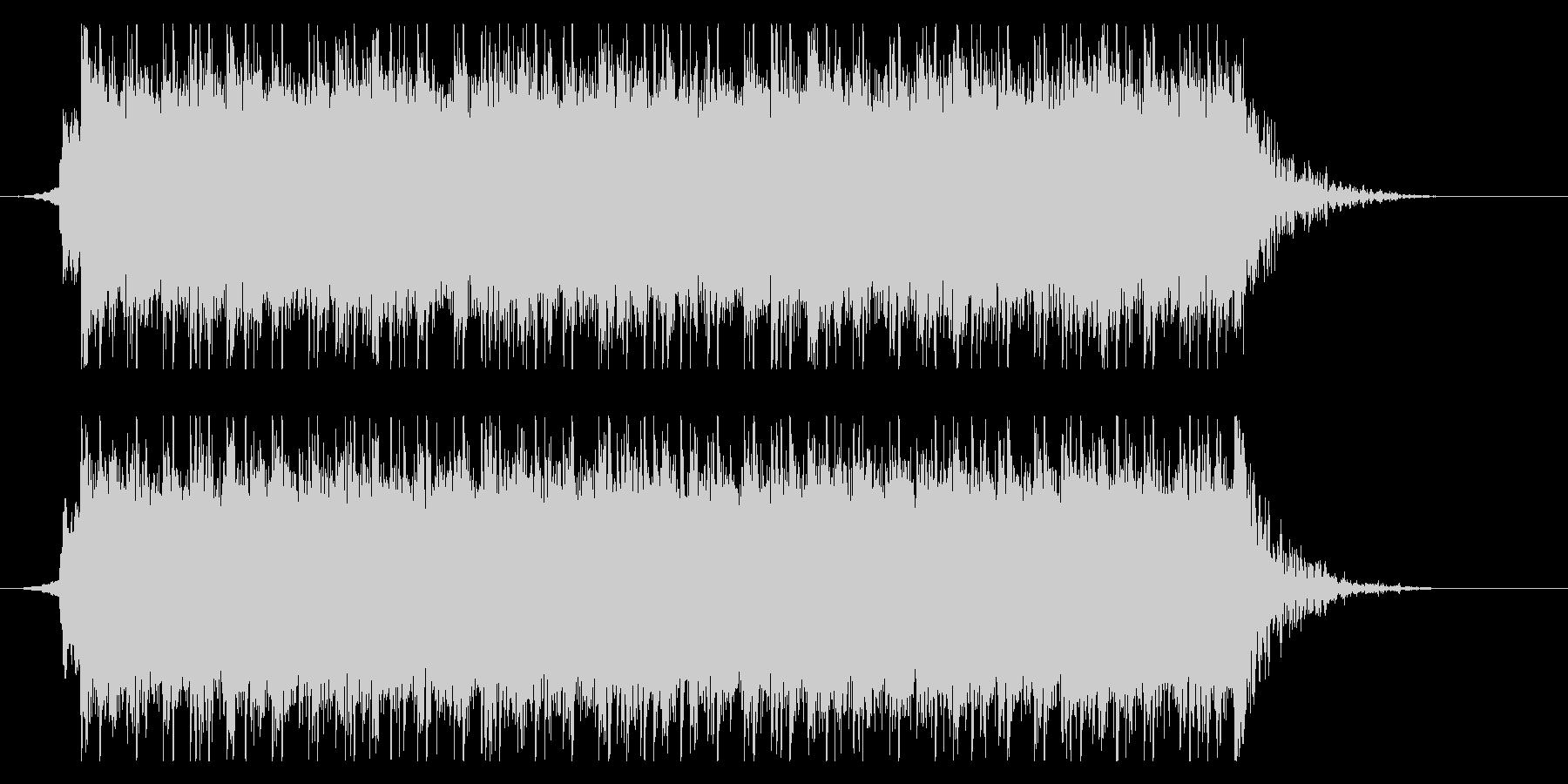 疾走感溢れるギターインスト_ジングルの未再生の波形