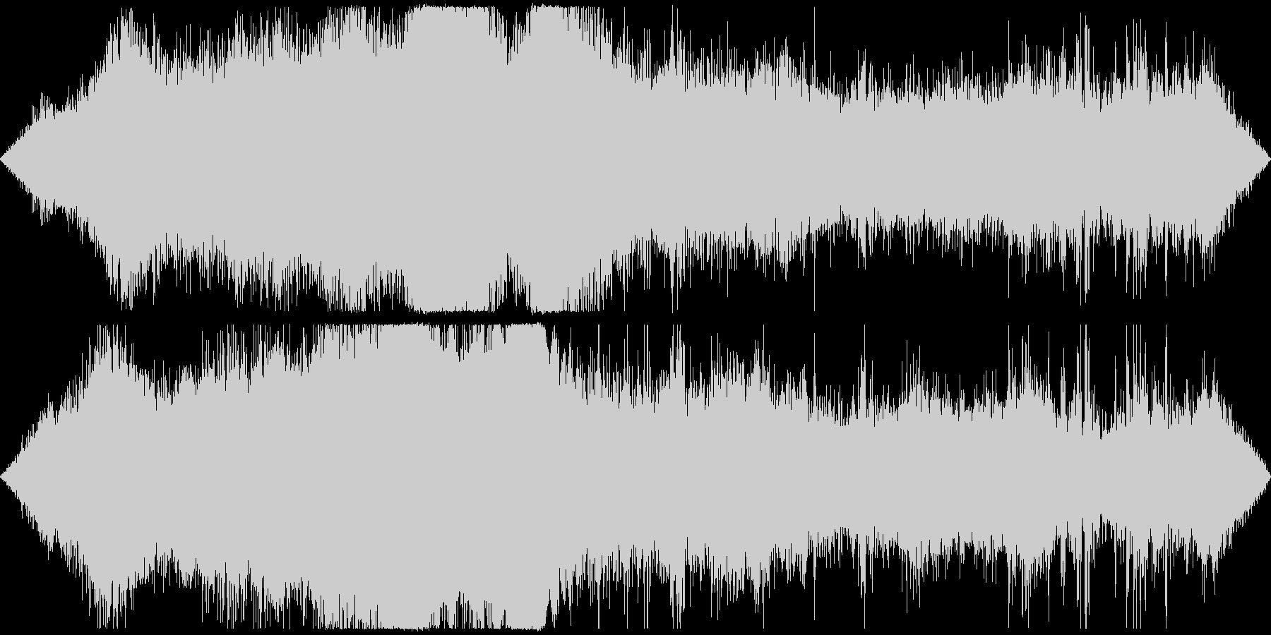 交差点の音 車や信号・雑踏等 その2の未再生の波形
