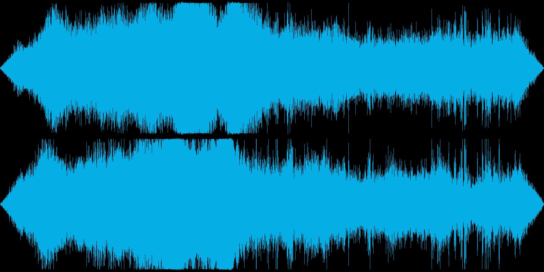 交差点の音 車や信号・雑踏等 その2の再生済みの波形