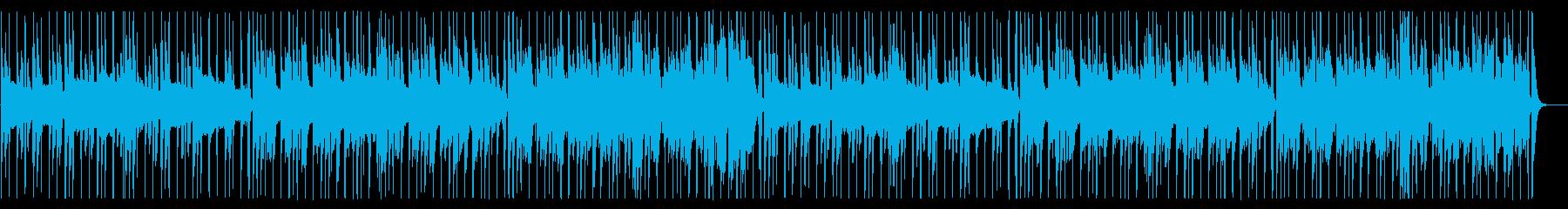 おしゃれなギターが特徴的なR&B_2の再生済みの波形