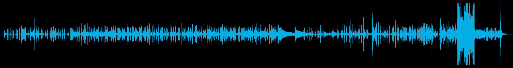 中東風のコミカルな民族音楽の再生済みの波形