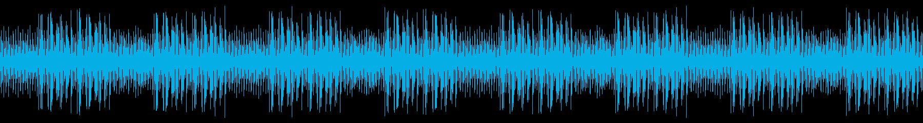 のんびり優しいリコーダー・生配信ループの再生済みの波形
