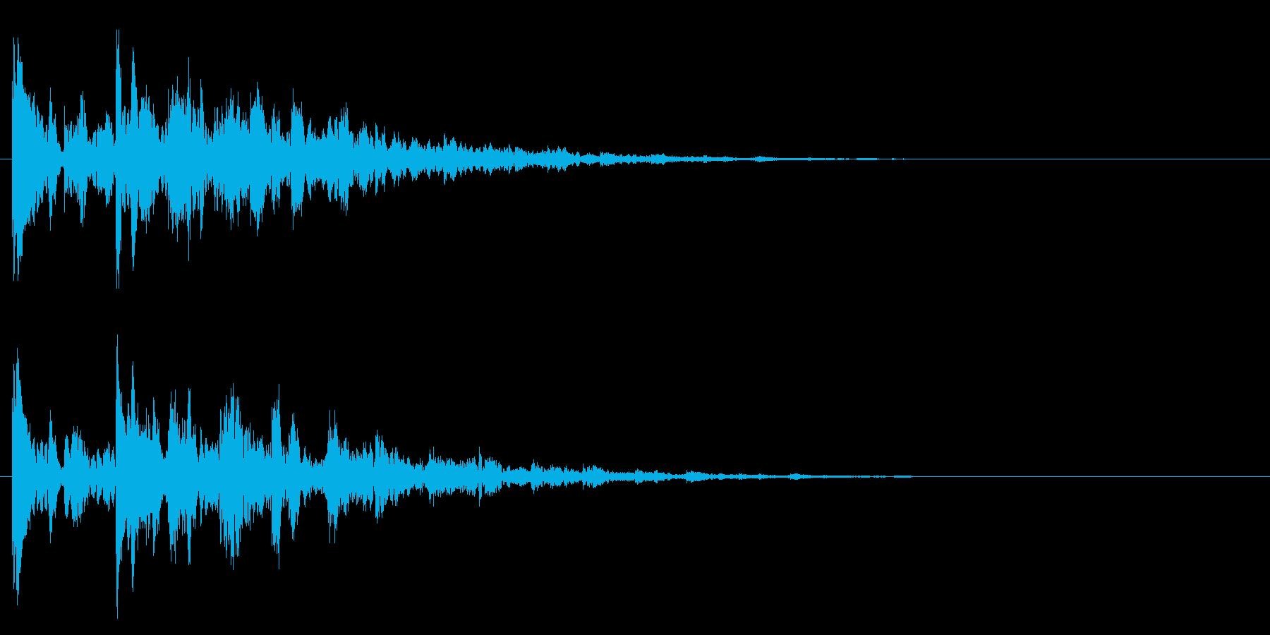 アイテムゲット・謎が解けた2の再生済みの波形