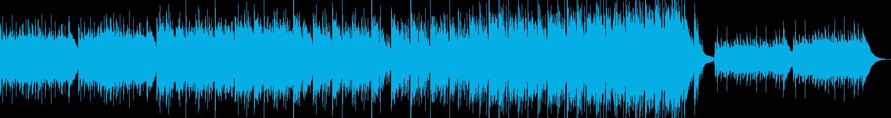 日常系癒し系アコギアコーディオンの再生済みの波形