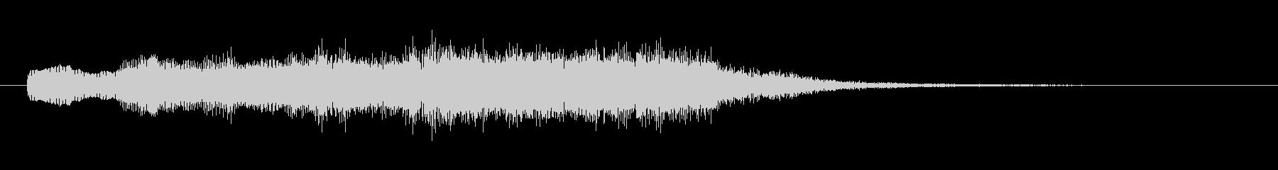壮大なシンセサイザーコーラスのSE03の未再生の波形