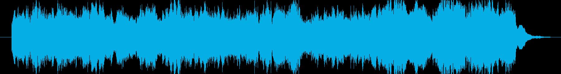 クラシック風(バロック)のジングルの再生済みの波形