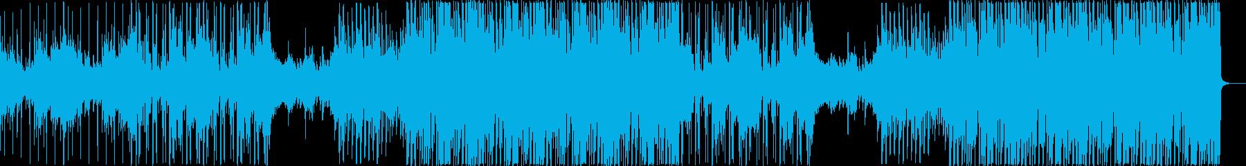 暖かく切なさも感じるR&B調のPOPSの再生済みの波形