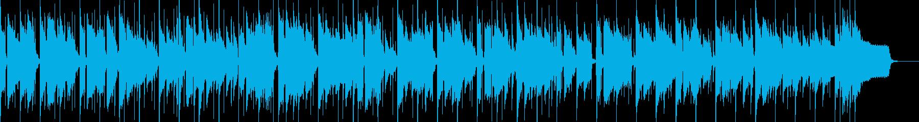 切ないサックスとゆったりした伴奏のポップの再生済みの波形