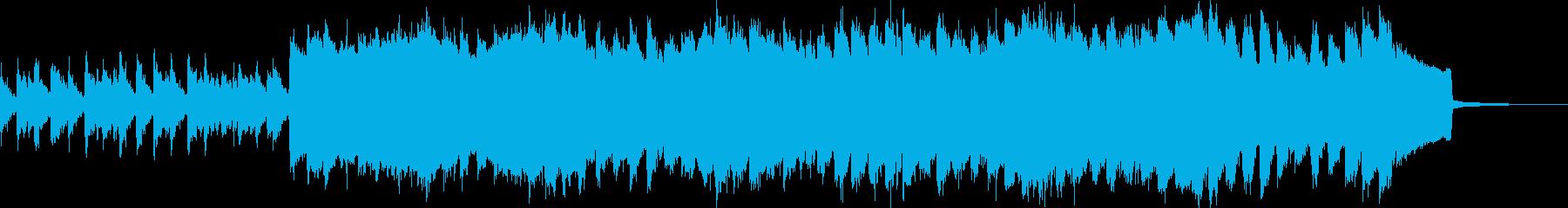 夕暮れの切ない3拍子のアンビエントの再生済みの波形